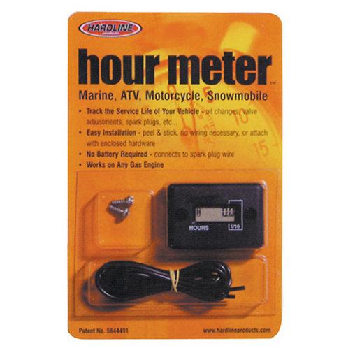 Hardline Wired Hour Meter HR-8063P
