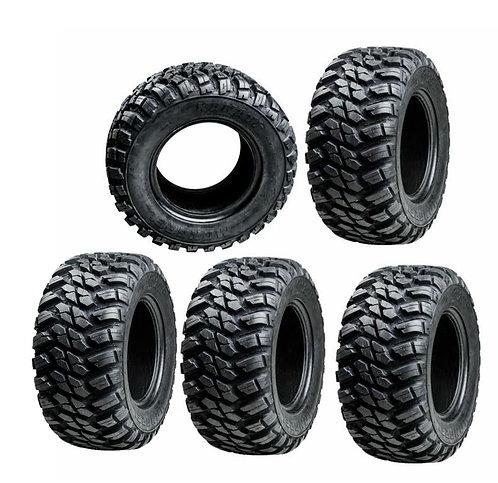GBC Kanati Mongrel 10 Ply Radial ATV UTV Tire 32x10-15 Set Of 5 Tir