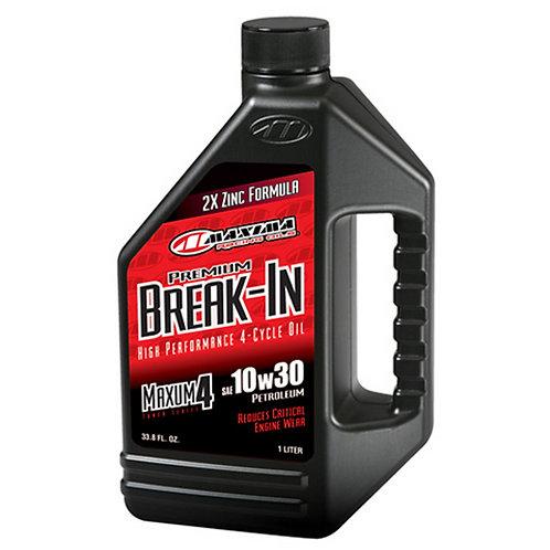 Maxima Break In Oil 10W30 - High Performance 4 Cycle Oil - 30-10901