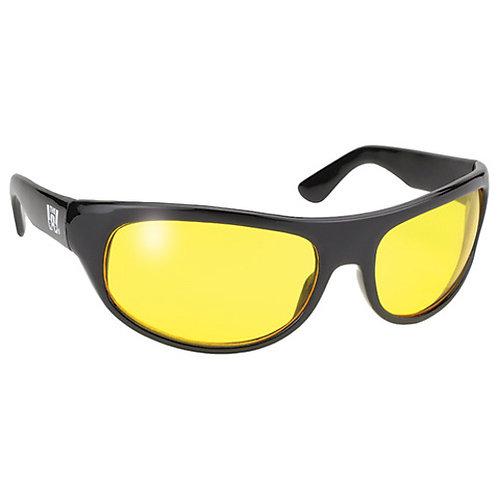 Pacific Coast Wrap Sunglasses -Yellow Lens