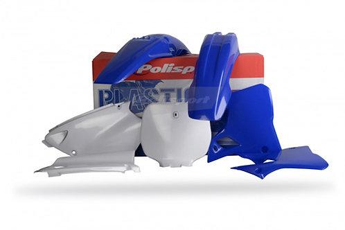Polisport Complete Plastics Kit - Yamaha YZ125/250 - Blue and White