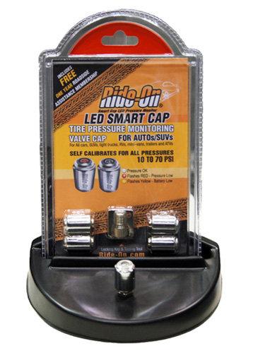 Ride On LED Smart Caps, Tire Pressure Monitor Valve Cap - SC-SD