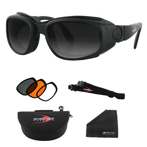 Sport & Street Convertible Black Frame Sunglasses