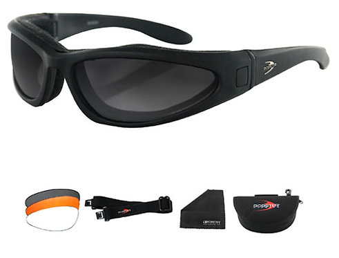 Low Rider II Convertible Black Frame Sunglasses