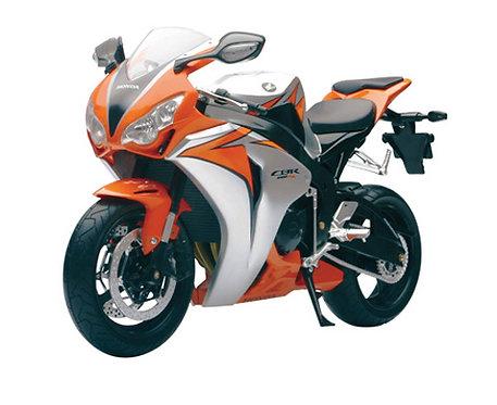 1:6 Die-Cast Honda CBR1000RR Orange and Silver 49293