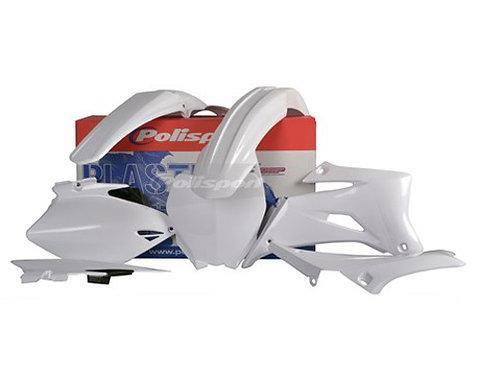 Polisport 90582 Complete Plastics Kit YZ250F YZ450F - White