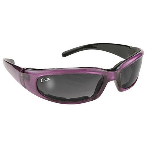 "Chix ""Rally"" Ladies Padded Sunglasses - 43023 - Purple"