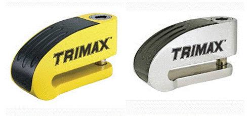 Trimax Motorcycle Alarm Disk Rotor Lock