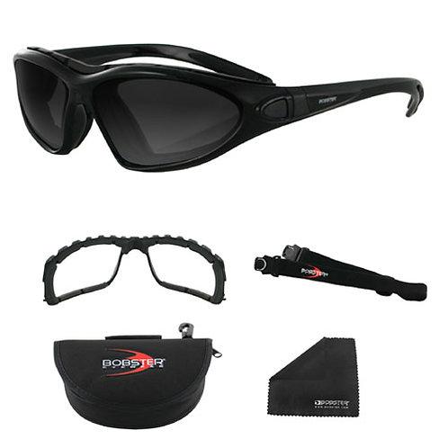 Roadmaster Convertible Black Frame Photochromic lens Sunglasses