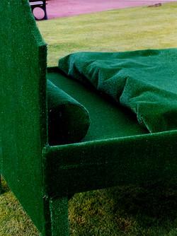 lit au bord du lac (détail)