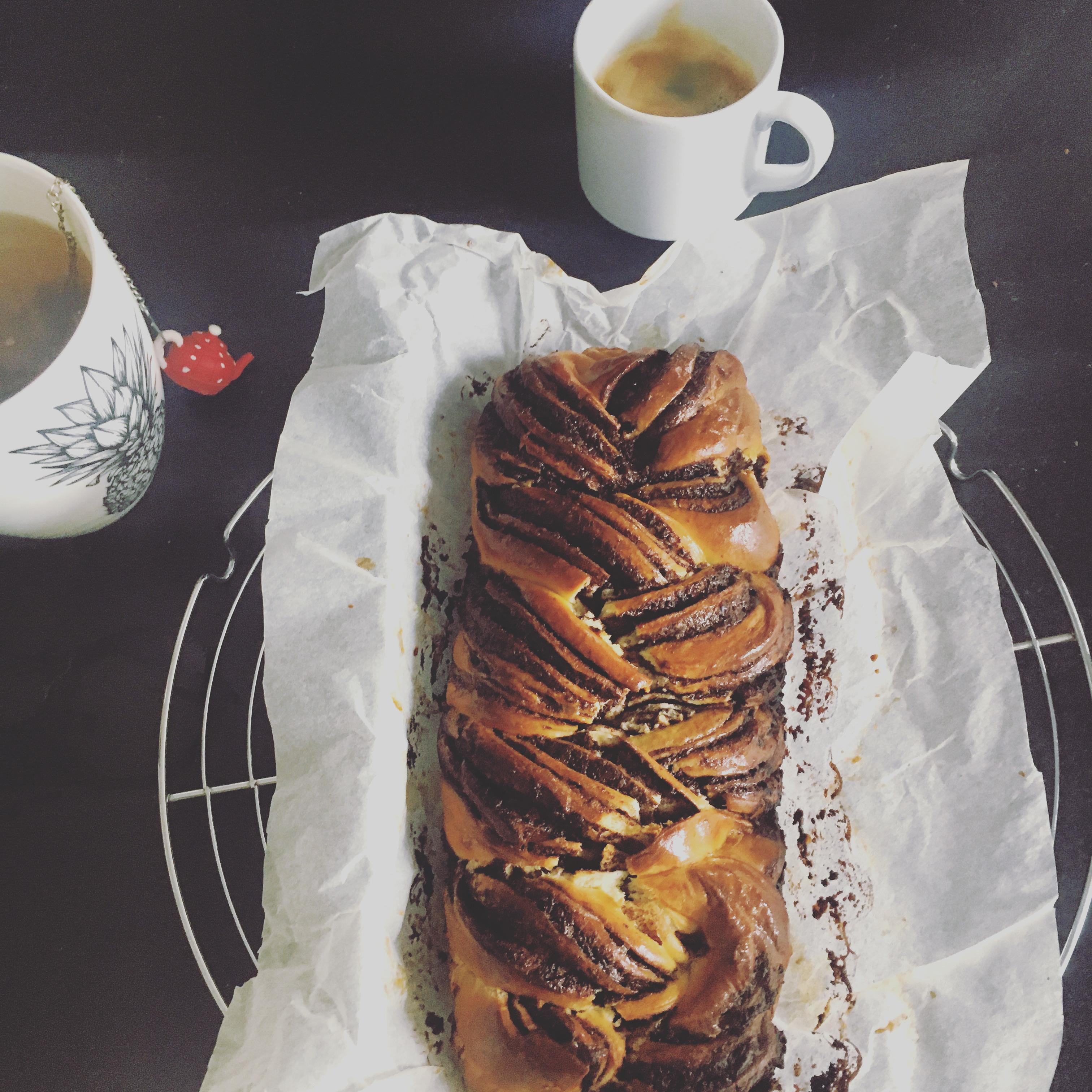 Brioche babka chocolat