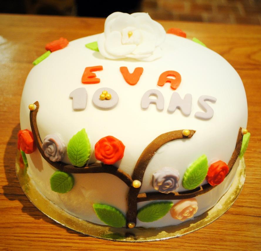 Cake design jardin de fleurs