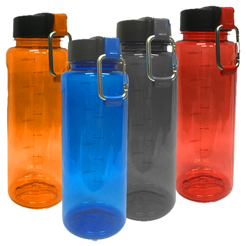 PC Bottle with Carabinder (1,000ml)