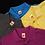 Thumbnail: Honey-Comb Cotton Polo Shirt