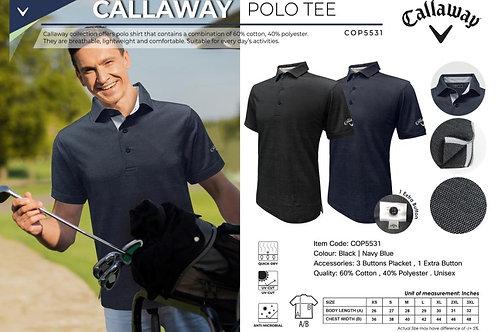 Callaway Polo (Oxford Pique - Polo with Self Fabric Collar)