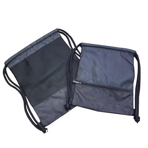 Premium Drawstring Bag with Zipper Pocket