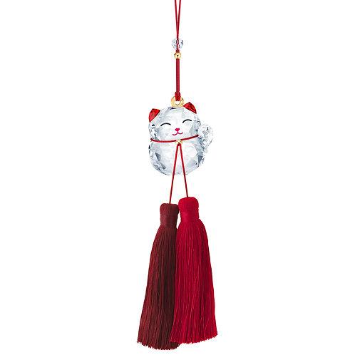 Swarovski Lucky Cat Ornament