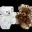 Thumbnail: Teddy Bears (17cm)