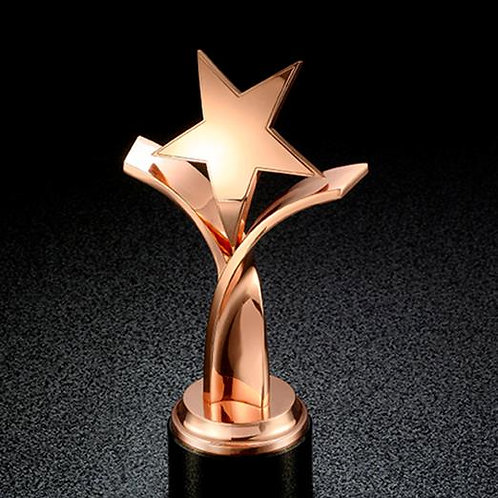 Five Star Trophy Award