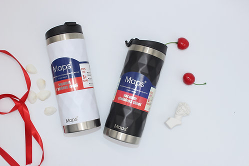 Maps Vacuum Stainless Steel Tumbler (500ml)