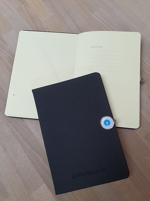 A5 Notebook with Magnetic Clip