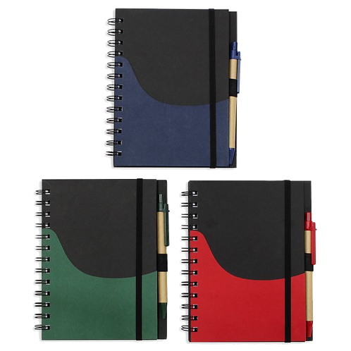 A5 ECO Notebook with Elastic Band