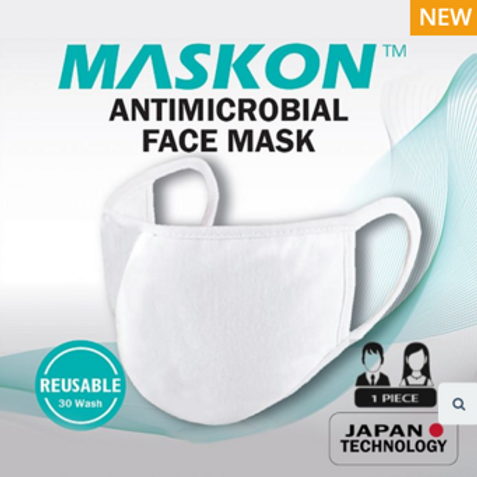 MaskOn Antimicrobial Reusable Mask
