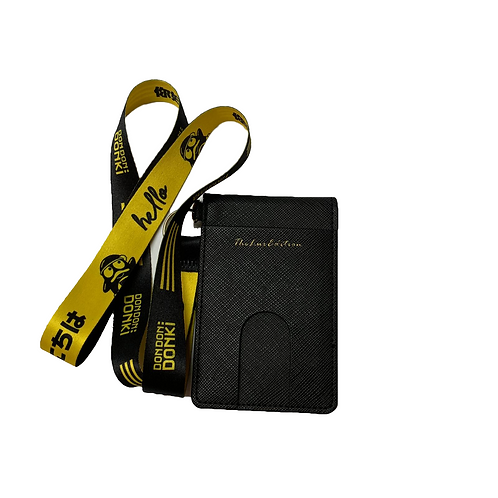 Customised 2-Fold PU Leather Cardholder