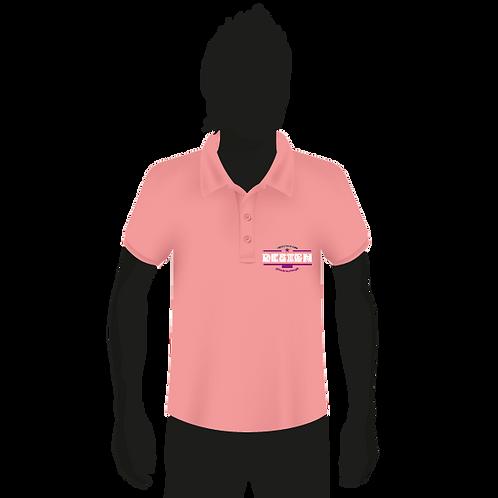 Honey-Comb Cotton Polo Shirt