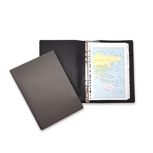 A5 Premium Leather Refillable Organizer