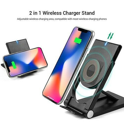 Phone Stand with Wireless Charger