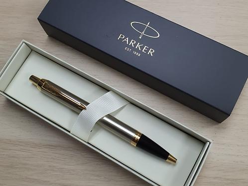 Parker IM Steel GT Ballpoint Pen