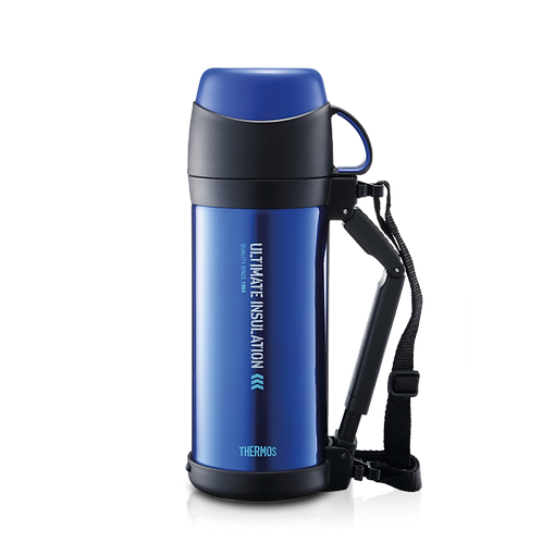 Thermos Stainless Steel Vacuum Insulated Bottle With Cup (1,000ml)