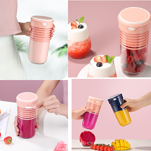Portable Fruit Juice Blender 380ml