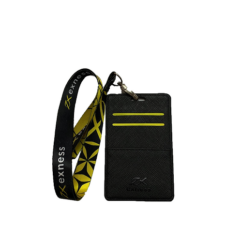 Customised Single-Fold PU Leather Cardholder