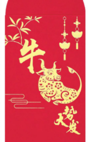 Fancy Paper Red Packets