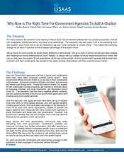 OSaaS Citizen360 Whitepaper - Why Govern