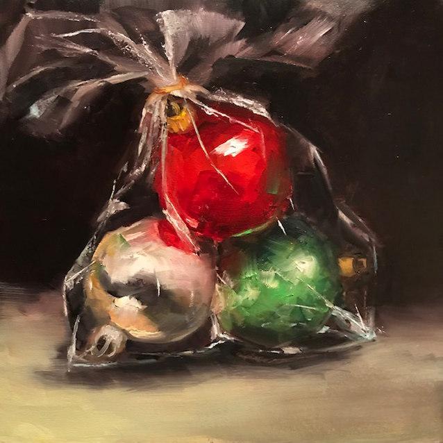 Trio of Ornaments–Sold