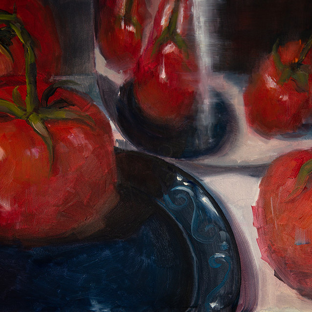 Summer Time Tomatoes–Sold