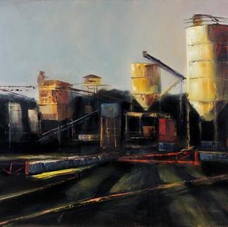 Wrentham Plant at Dusk