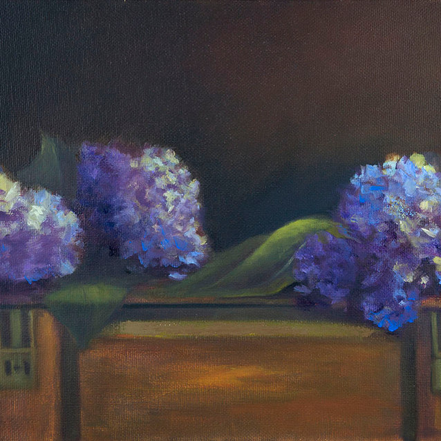 Summer Hydrangeas–Sold