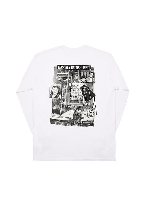 COLLAGE LONGSLEEVE / WHITE