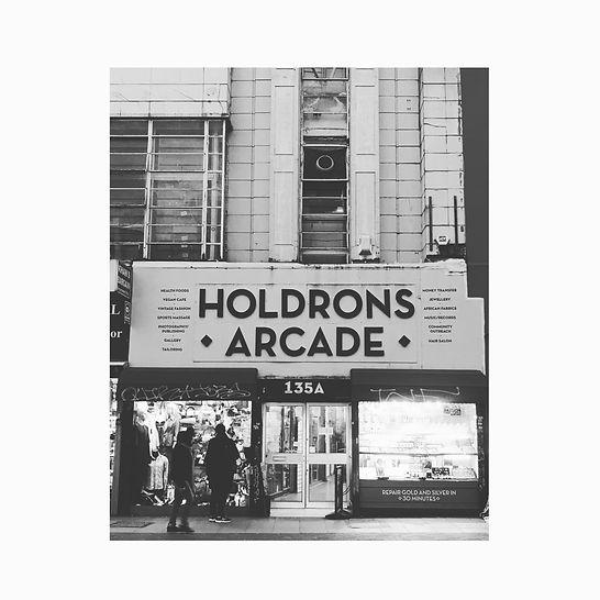 Holdron's Arcade, Peckham, shop, south London