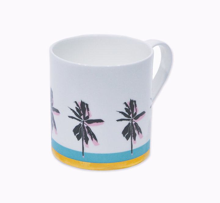 Limited Edition Bone China 'Gold' Palm Cup - CHILDSDRAW