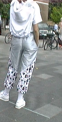 90s 80s style tracksuit