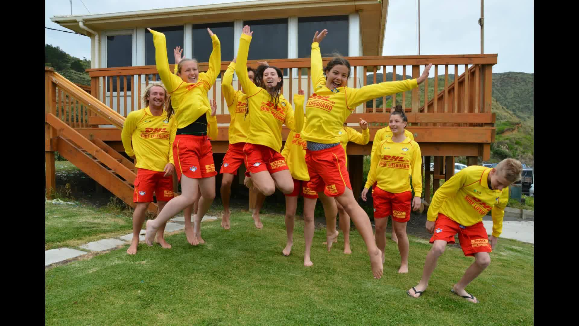 In it for life.... Surf Lifesaving