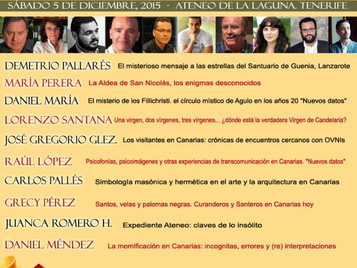 II Encuentro Canarias Territorio del Misterio