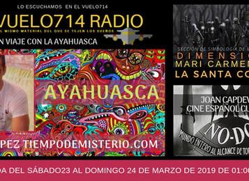 Entrevista en Vuelo714- AYAHUASCA
