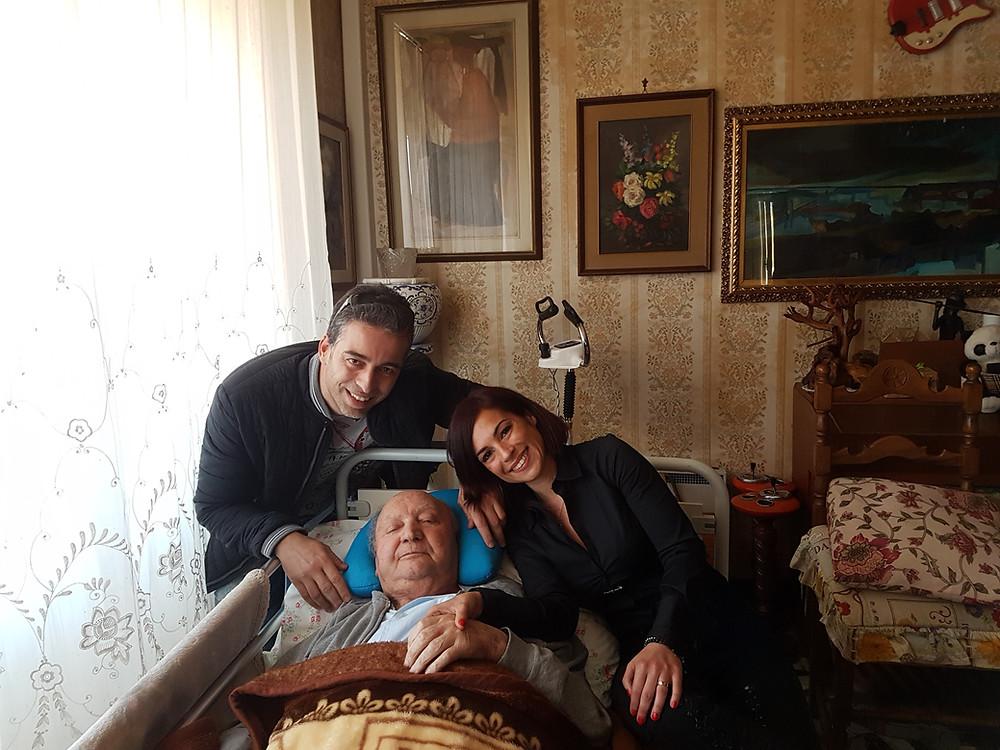 Junto a Marcello Bacci