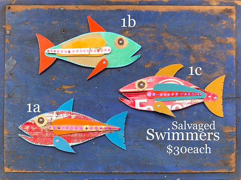 Salvaged Swimmers